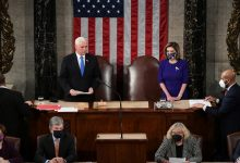 US Congress Certifies Biden Presidential Election Victory