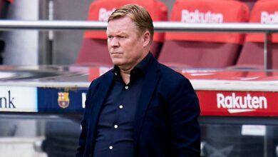 Barcelona to appeal Koeman's 2-game suspension